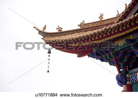 Stock Photo of China, Yunnan Province, Kunming, Yuantong Temple.
