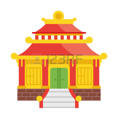 1,503 Temple Roof Cliparts, Stock Vector And Royalty Free Temple.