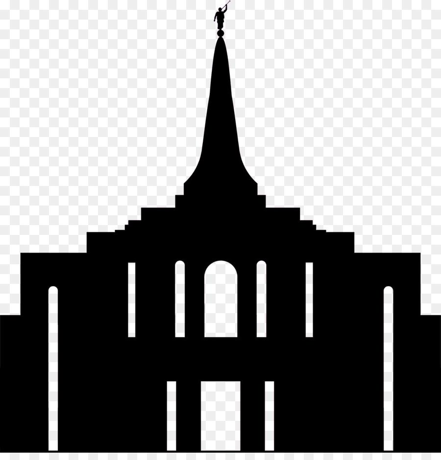 Best HD Salt Lake Temple Silhouette Image » Free Vector Art.