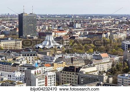 Stock Photography of Cityscape, Berlin.