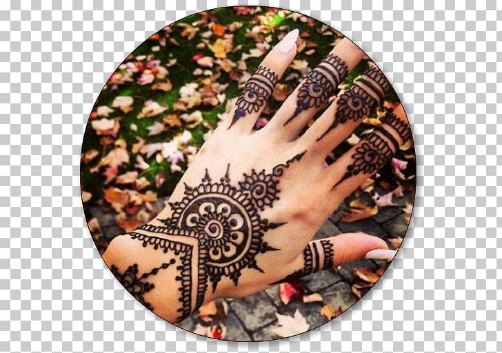 Mehndi Henna Tattoo Dye Body art, Henna tattoo PNG clipart.