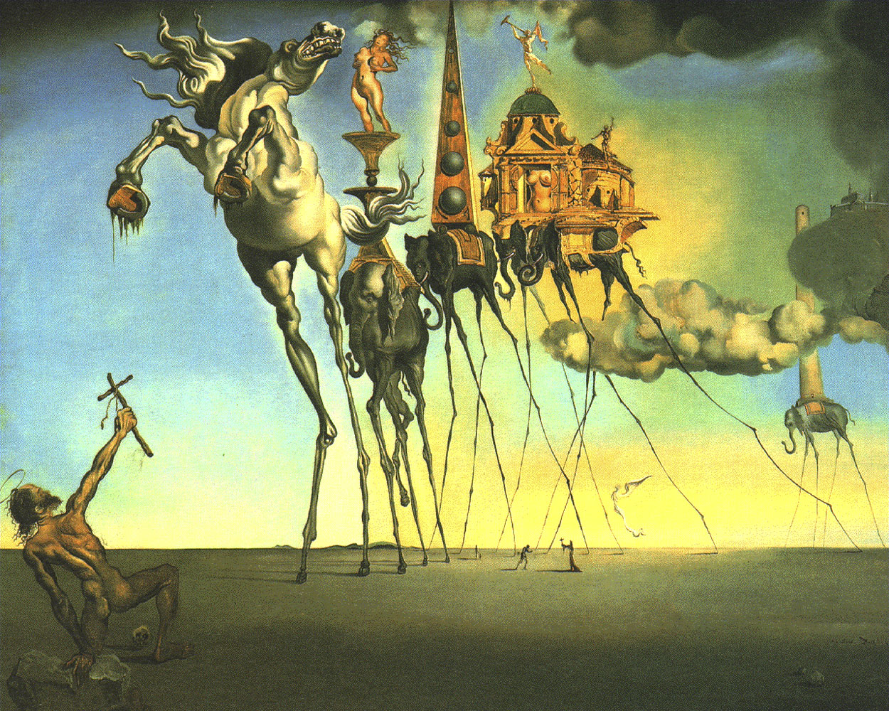 The Temptation of St. Anthony [Salvador Dali].