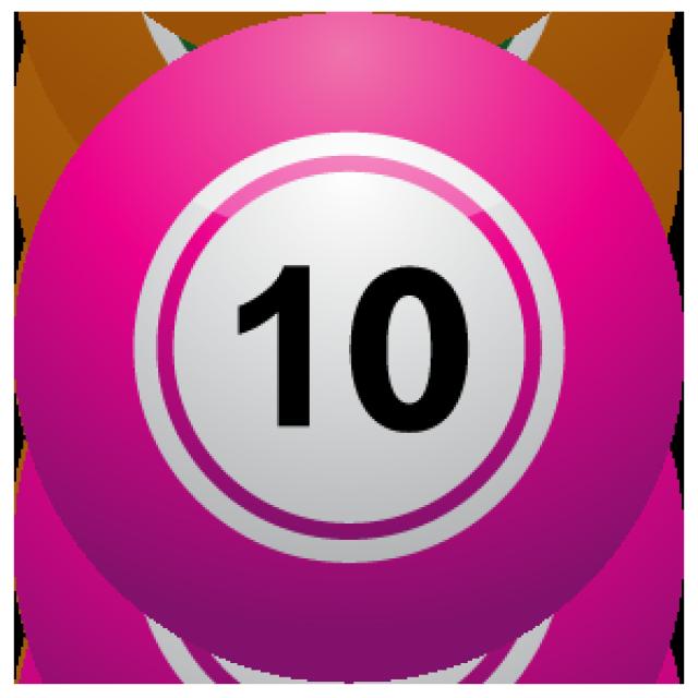 110 Ten Clipart.