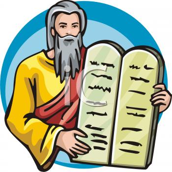 Ten commandments clipart.