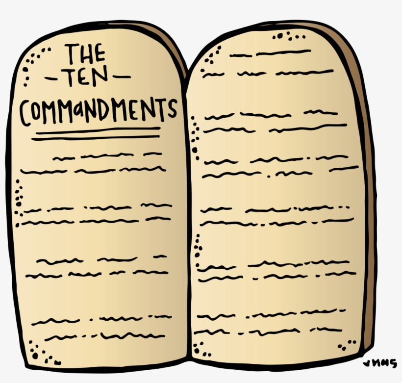 Ten commandments images clipart clipart images gallery for.