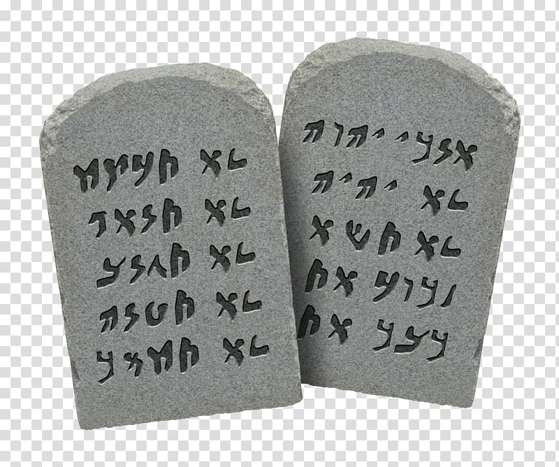 Tablets of Stone Bible Ten Commandments Book of Deuteronomy.
