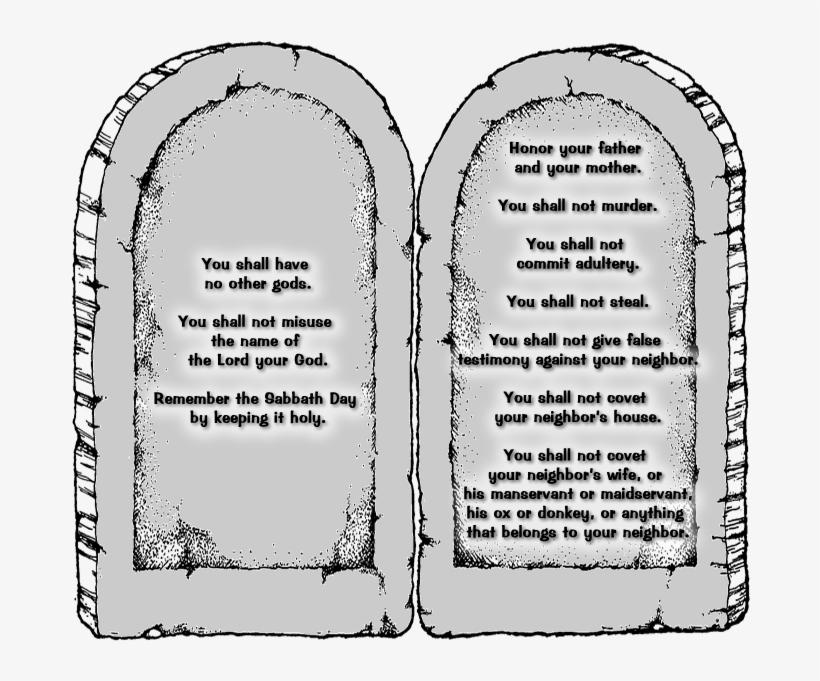 The Ten Commandments.