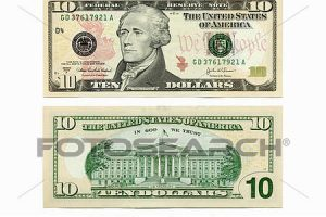 Ten dollar bill clipart 1 » Clipart Portal.