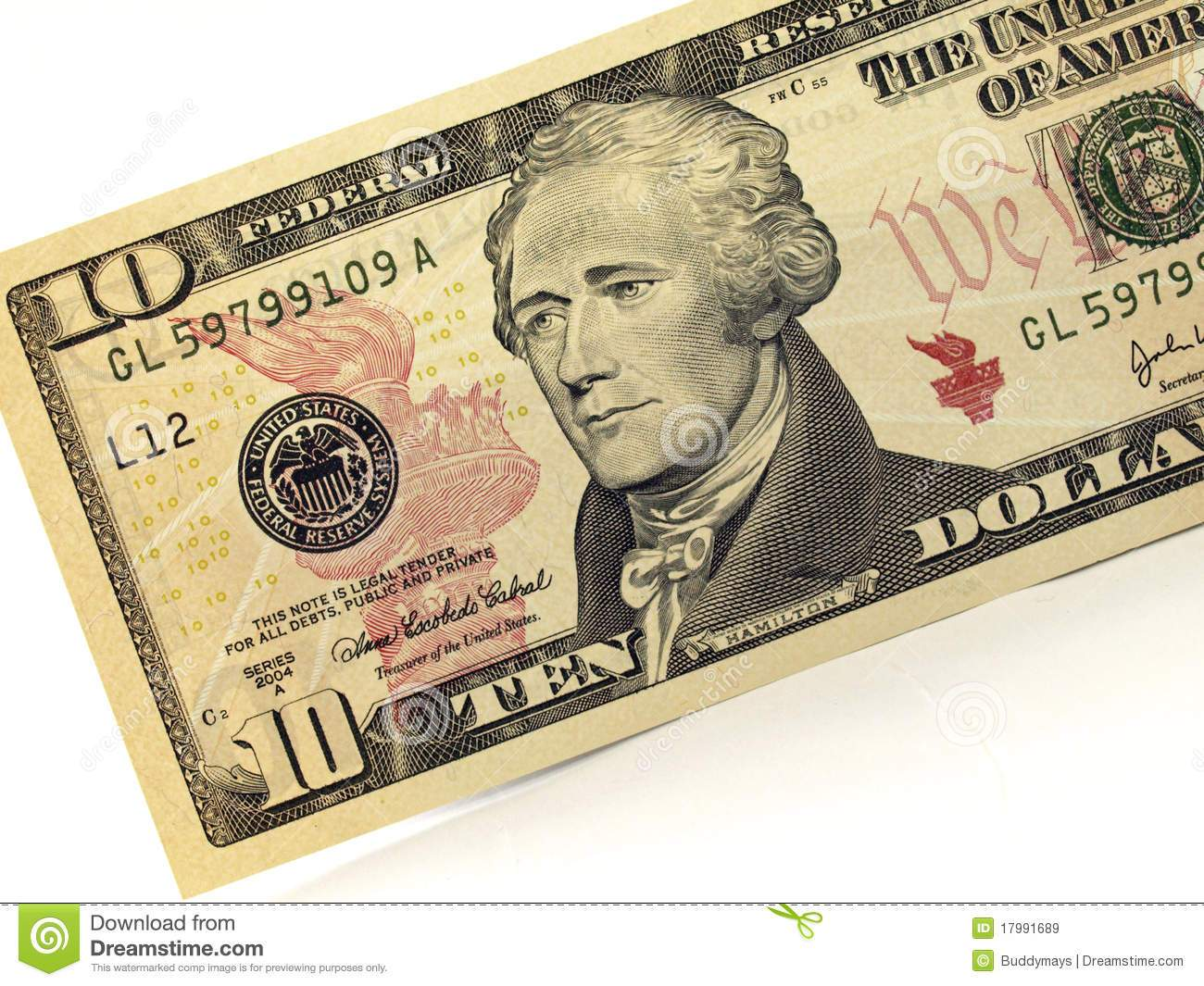 Ten dollar bill clipart 5 » Clipart Portal.