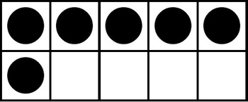 Ten Frame Clip Art/Graphics Set.