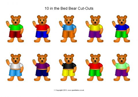 10 in the Bed Bear Cut.