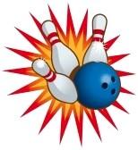 Ten Pin Bowling Clip Art Free.