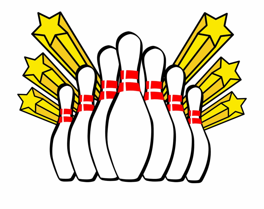 Ten Pin Bowling Clip Art Free PNG Images & Clipart Download.