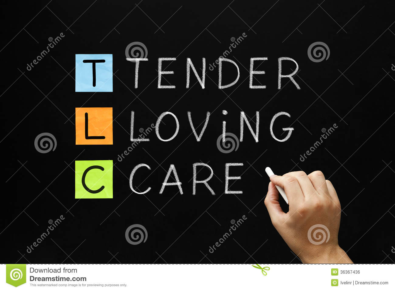 Tender loving care clipart animated.