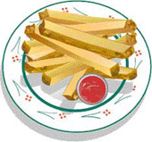 Chicken Tenders And Fries Clipart Images Pictures Becuo.