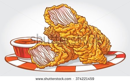 Chicken Tender Clipart.