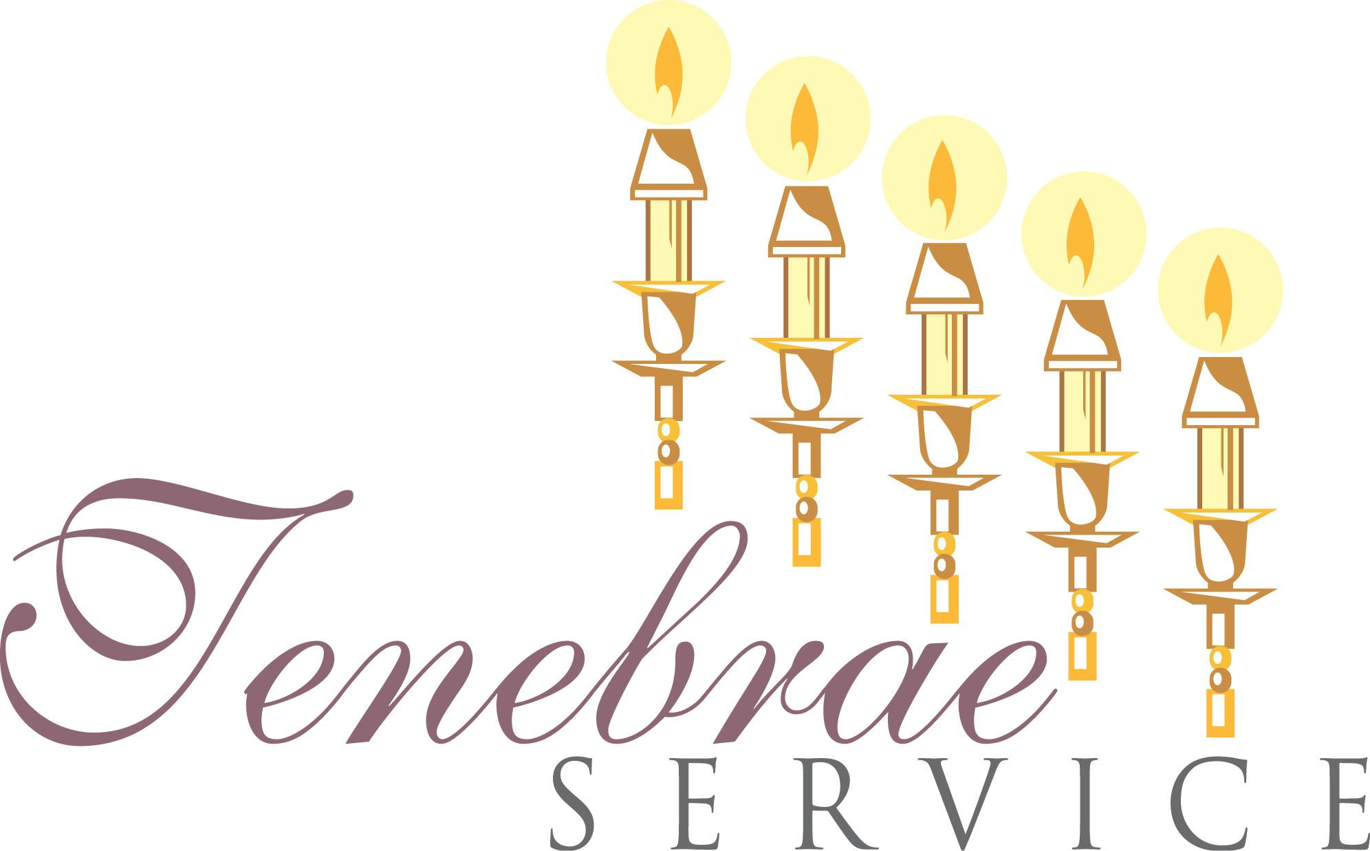 Tenebrae Service Cliparts.
