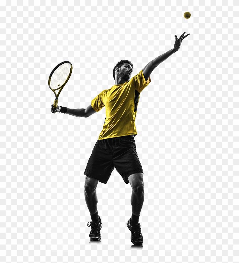 1508v01 Match Tuff Testimonials Man Playing Tennis.