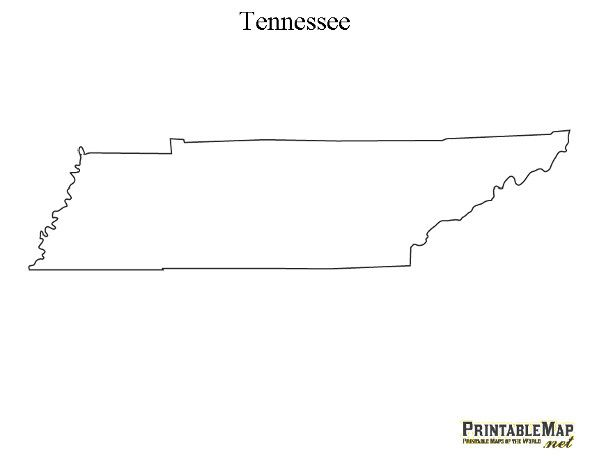tennessee clipart outline Clipground