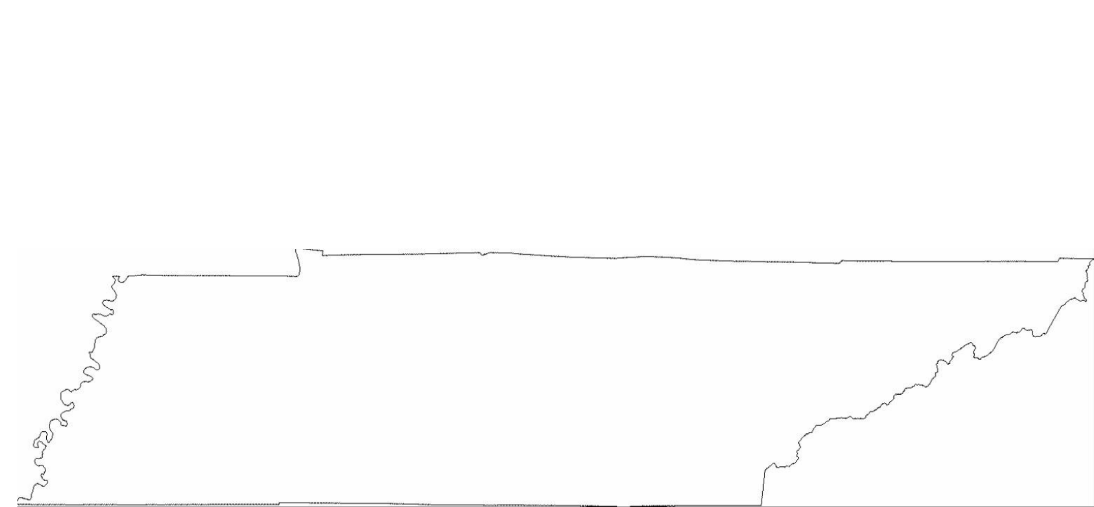 Outline Map Of Tennessee With Tn State Clipart : Outline Map Of.