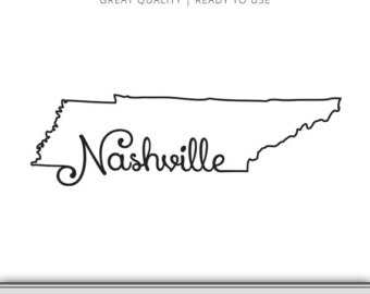 Tennessee home svg.