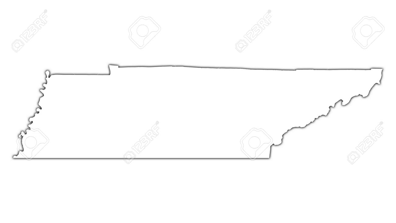Tennessee Map Outline Vector. Vector. Get Free Images About World Maps.