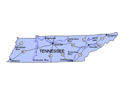 Download Tennessee Map Clipart.