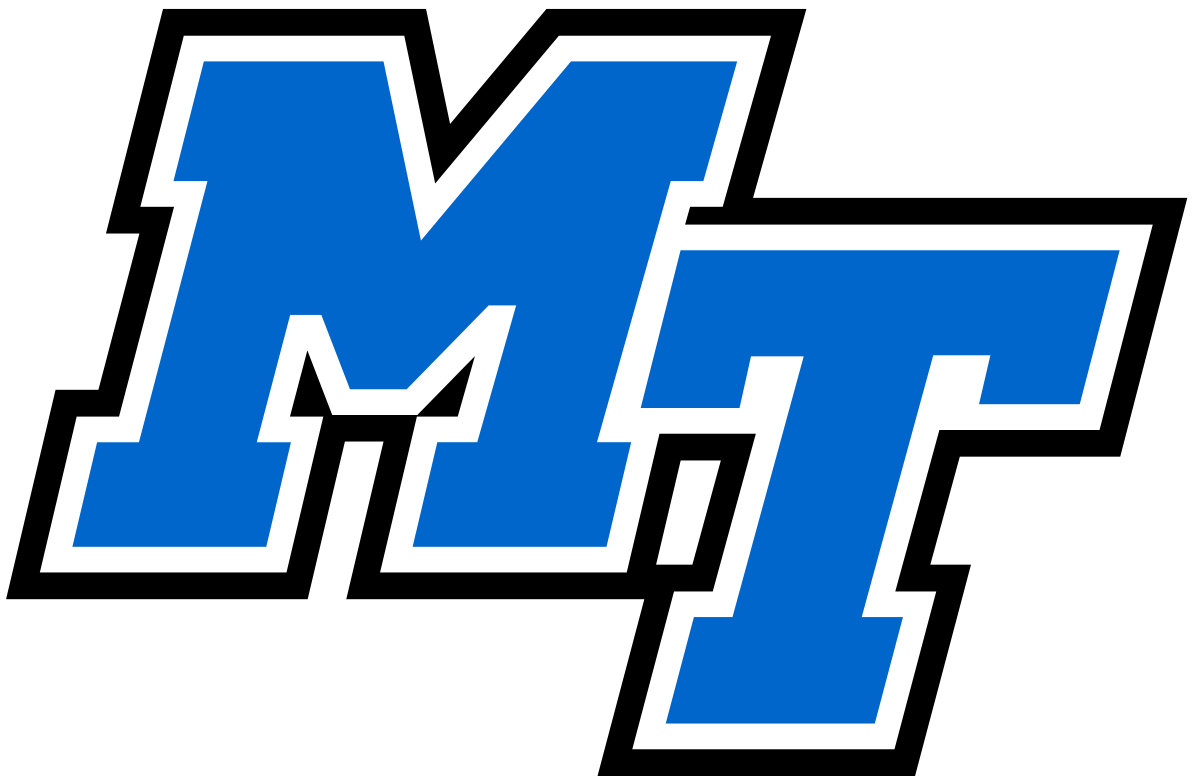 Middle Tennessee Blue Raiders.