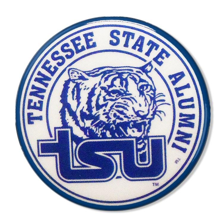 Tennessee State University Alumni Mascot Button.