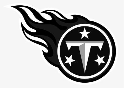 Tennessee Titans Logo Black A.