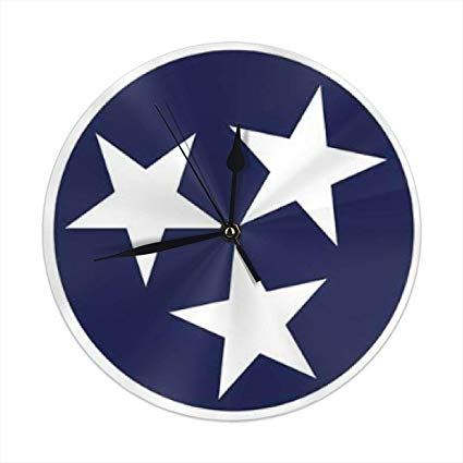 Amazon.com: monogram doormat Tennessee Tristar Flag Round.