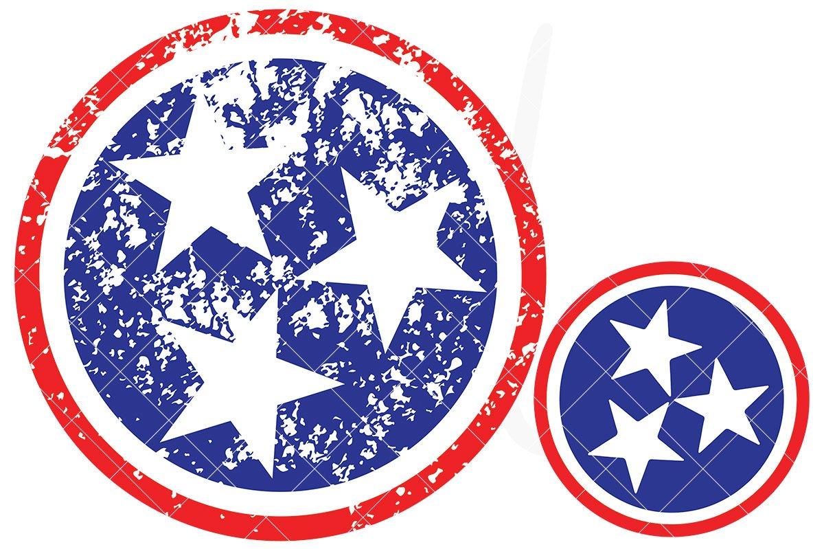 Tennessee Tristar SVG Cut File.