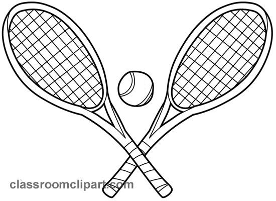 Free Black And White Tennis, Download Free Clip Art, Free.