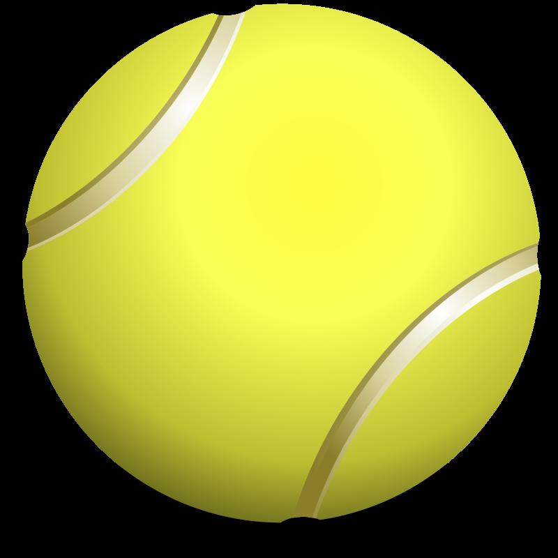 Free Tennis Ball Clip Art.
