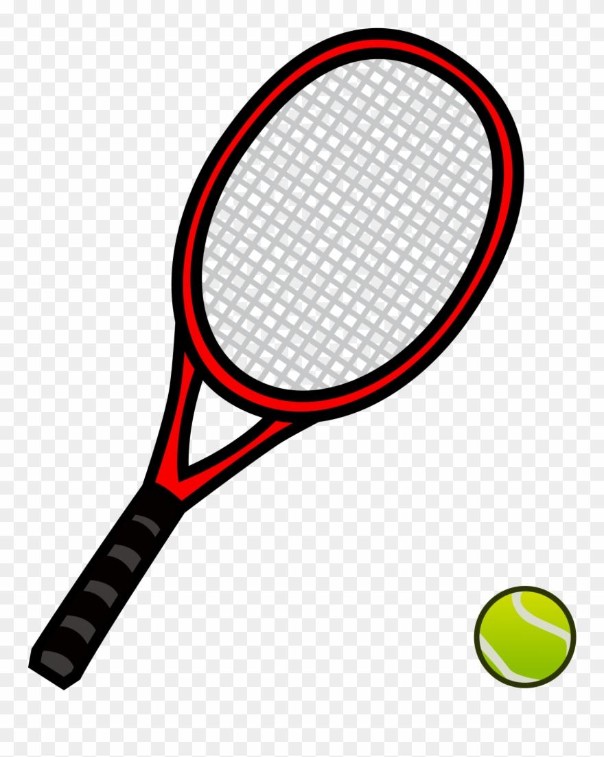 Tennis Racket And Ball 29, Buy Clip Art.