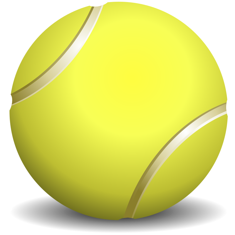 Free Tennis Ball Clip Art.