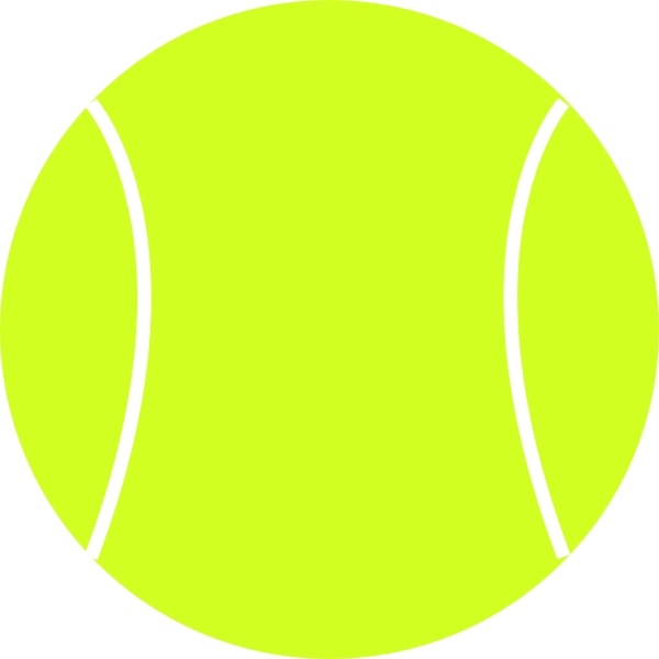 Tennis Ball clip art Free vector in Open office drawing svg.