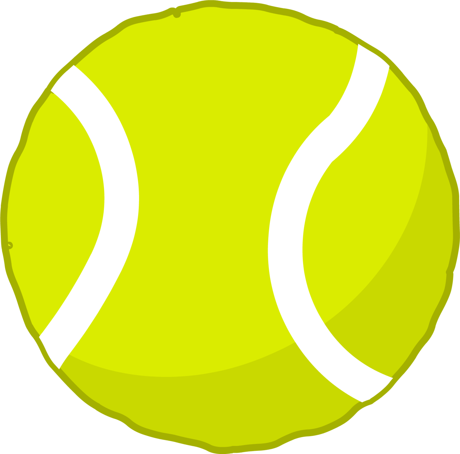 3ds tennis ball clipart.