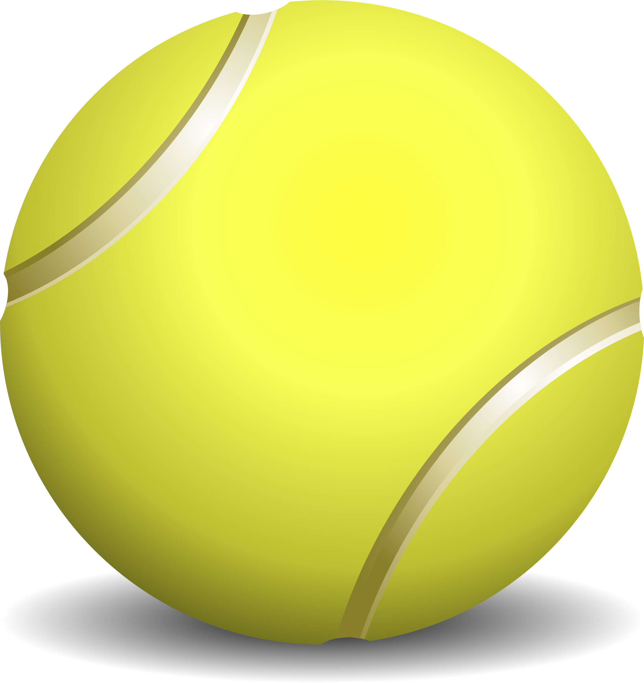 Free Tennis Ball Clip Art Pictures.