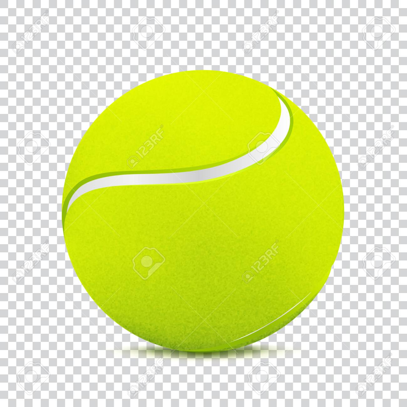 487 Tennis Ball free clipart.