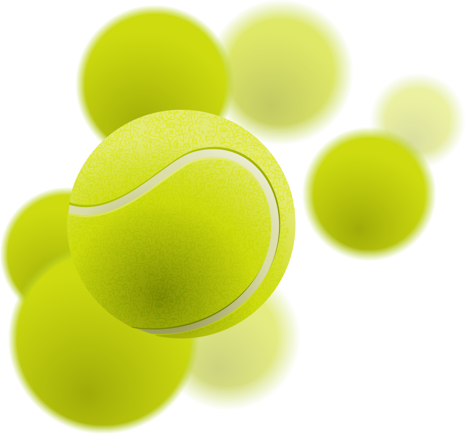 Tennis Ball PNG Transparent Images.