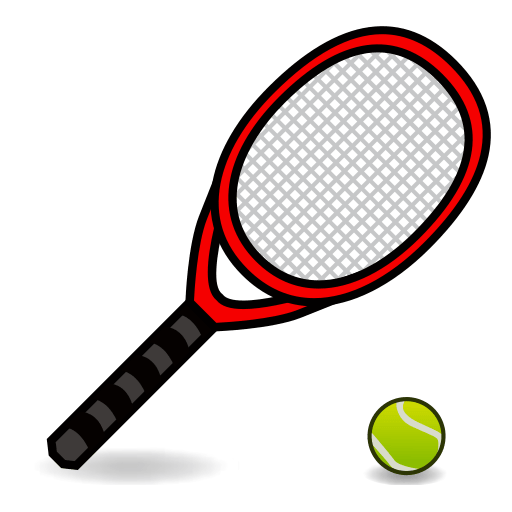 Tennis Racquet And Ball Emoji for Facebook, Email & SMS.