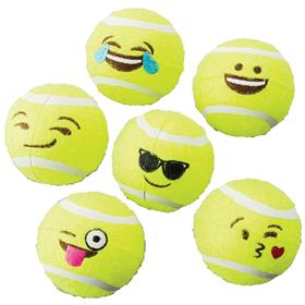 Spot Emoji Tennis Ball 6 Pack.