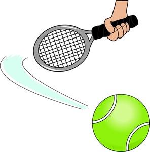 Tennis Clipart Image.