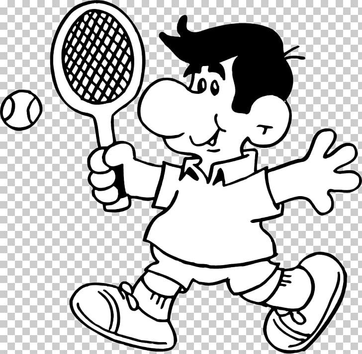 Tennis player Tennis ball Black and white , Man Tennis s PNG.