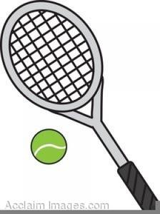 Tennis Racquets Clipart Free.