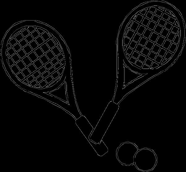 Tennis Drawing Images At Getdrawings Com.