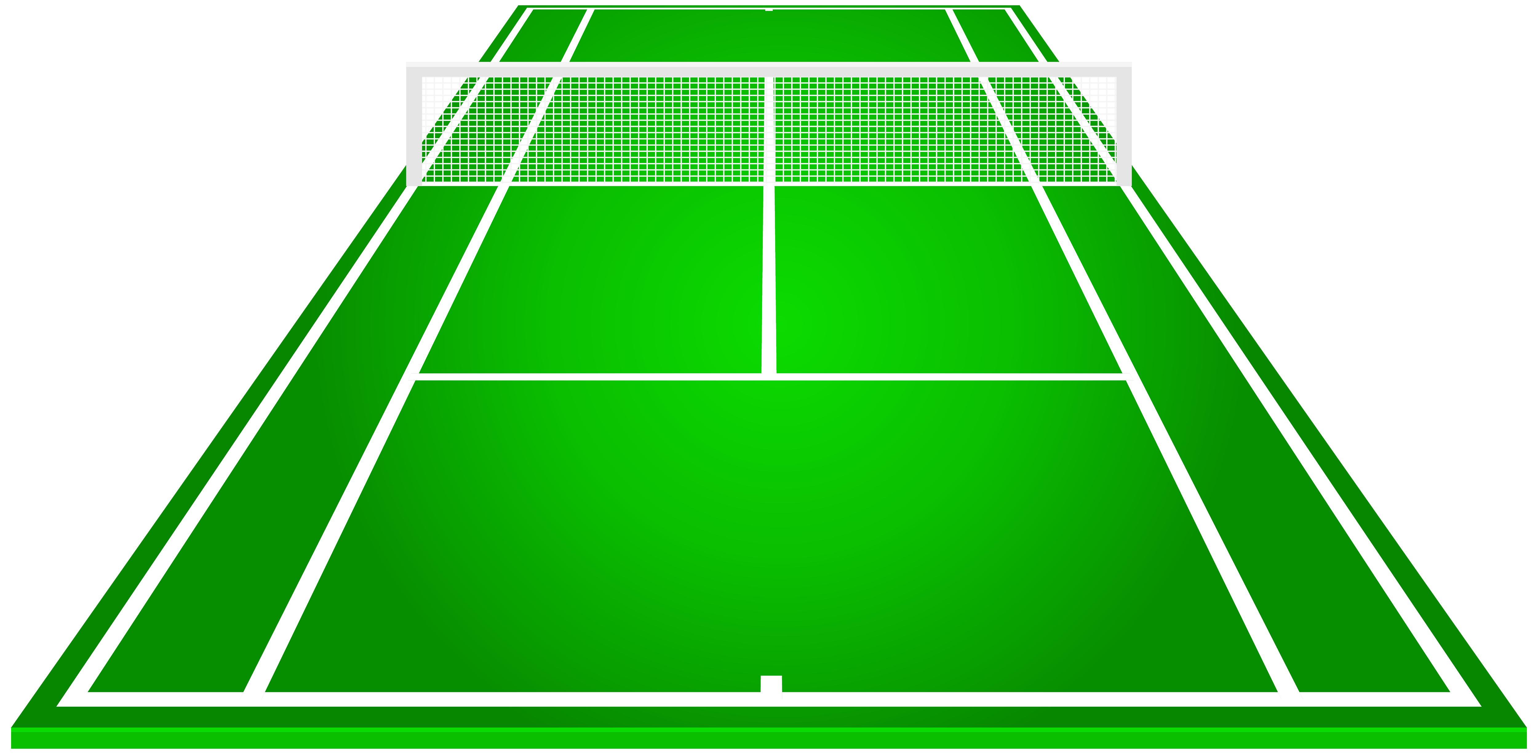 Tennis Court PNG Clipart.