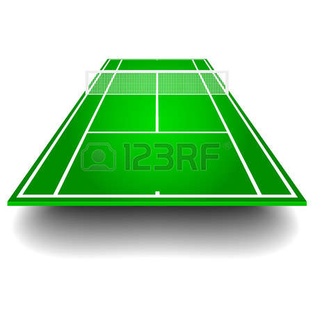5,601 Tennis Court Stock Vector Illustration And Royalty Free.