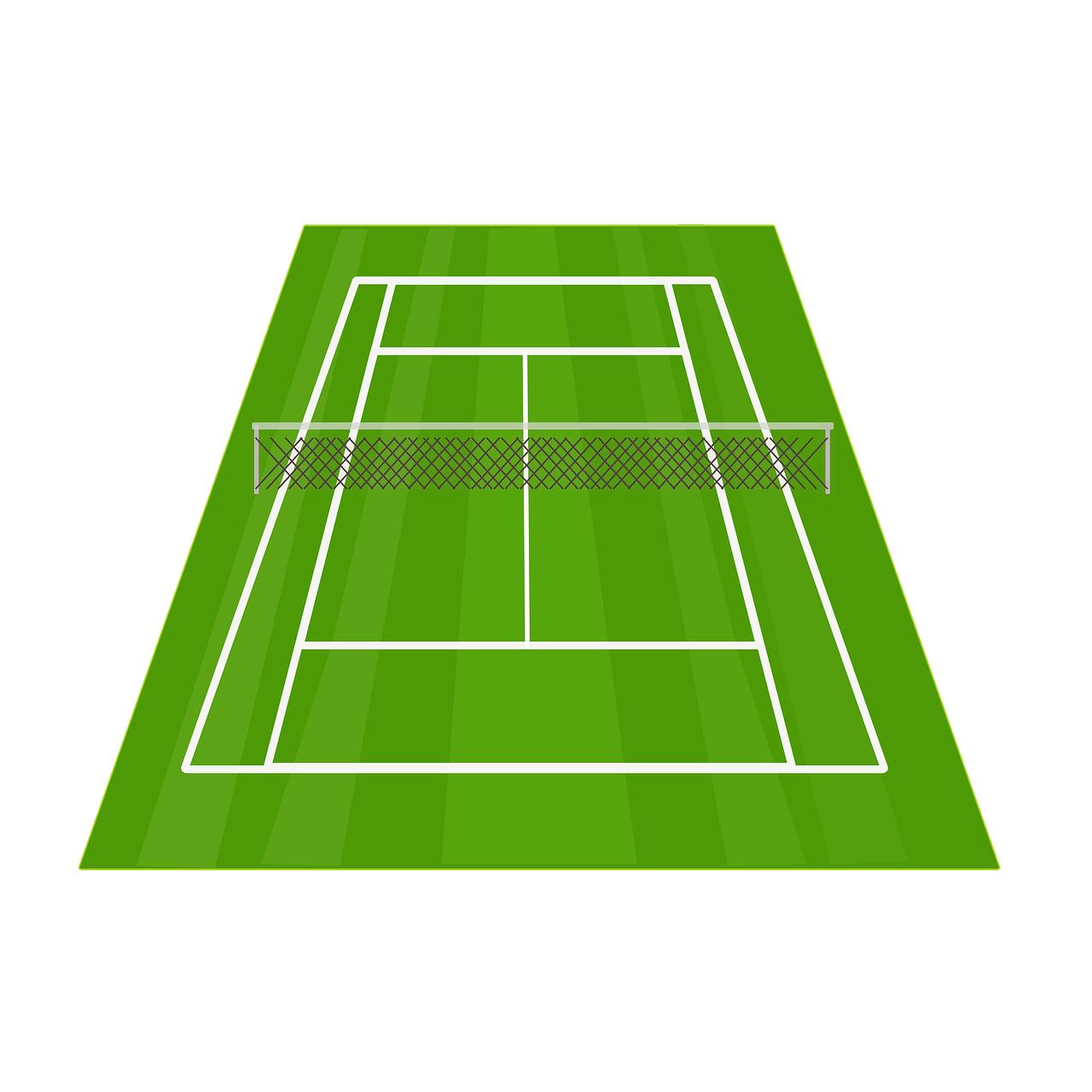 Tennis Court Tennis Net Court PNG.